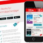 Projekte - Snapbooks App - Website - Wirth & Horn Informationssysteme