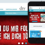 Projekte - dtv Responsive Relaunch - Wirth & Horn Informationssysteme