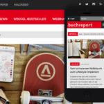 Projekte - Buchreport Relaunch Wordpress - Wirth & Horn Informationssysteme