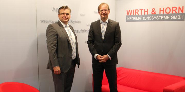News - Frankfurter Buchmesse - Wirth & Horn Informationssystene