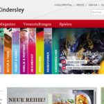 Projekte - Dorling Kindersley Verlag - Webshop Internetpräsenz - Wiirth & Horn Internetpräsenz