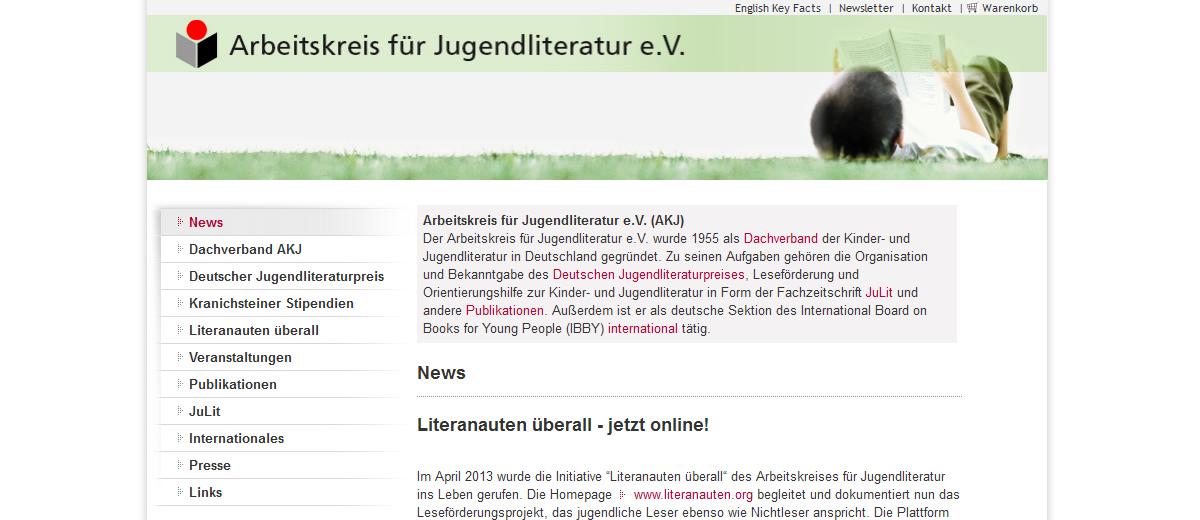 Projekte - Arbeitskreis Jugendliteratur - Wirth & Horn Informationssysteme