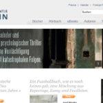 Projekte - Antje Kunstmann Verlag - Webshop Internetpräsenz - Wirth & Horn Informationssysteme
