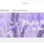 ekz: Relaunch Medienwelten Shop