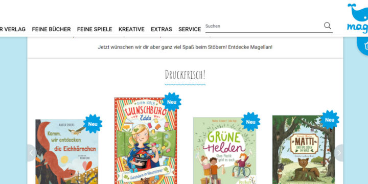 Magellan Verlag: Relaunch