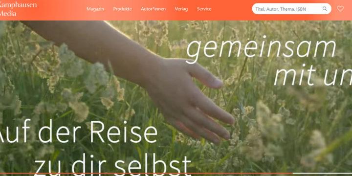 Kamphausen Media Webshop Relaunch