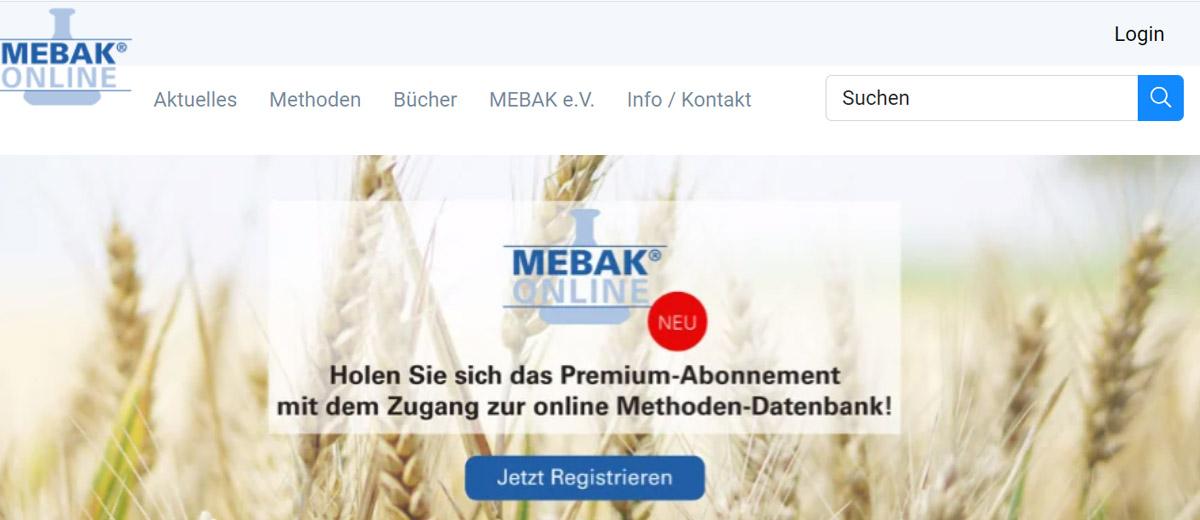 Mebak Methoden Datenbank